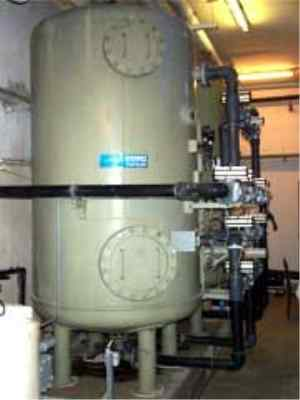 Grey water WWTP
