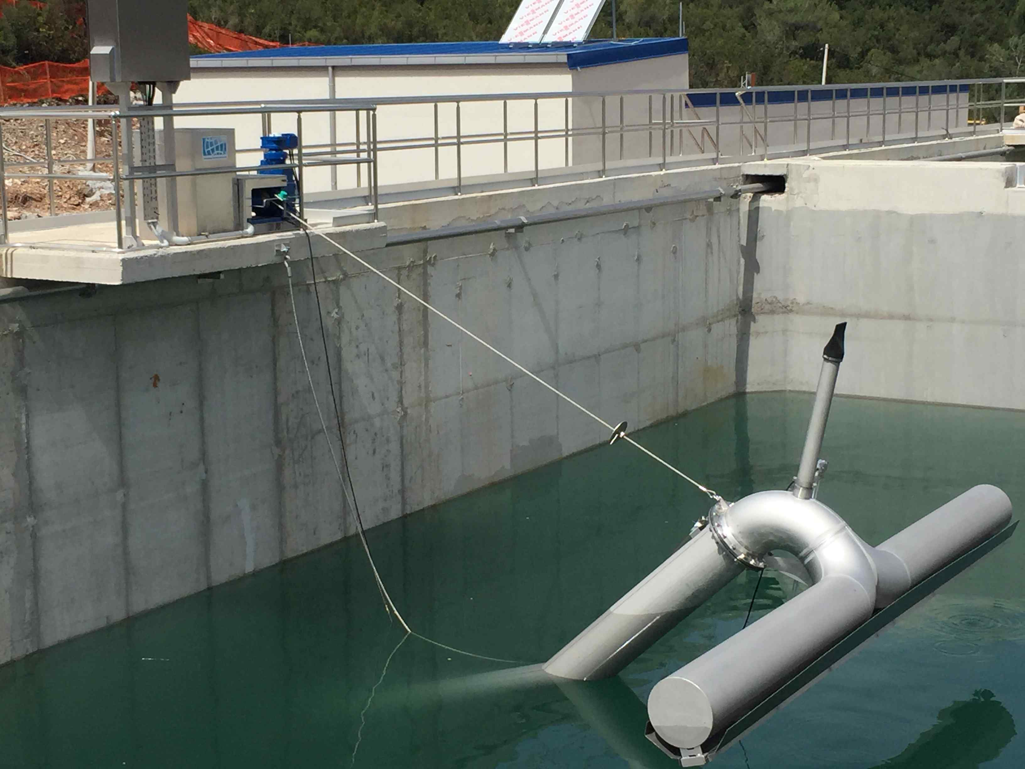 BSK®-Decanting System | Clear Water Discharge