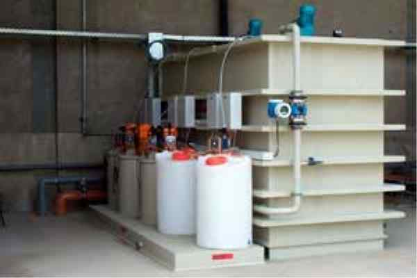 Treatment of Industrial Effluents - pH-Correction system for a WWTP of home appliances company